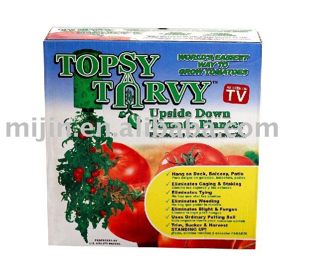 Wholesale 1pcs TOPSY TURVY Strawberry Planter Upside Down Tomatoes Planter  As Seen On TV