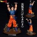 Anime dragon ball Z Goku batalla Genki Dama acción PVC Figure Collection modelo juguetes Doll 15 cm envío gratis
