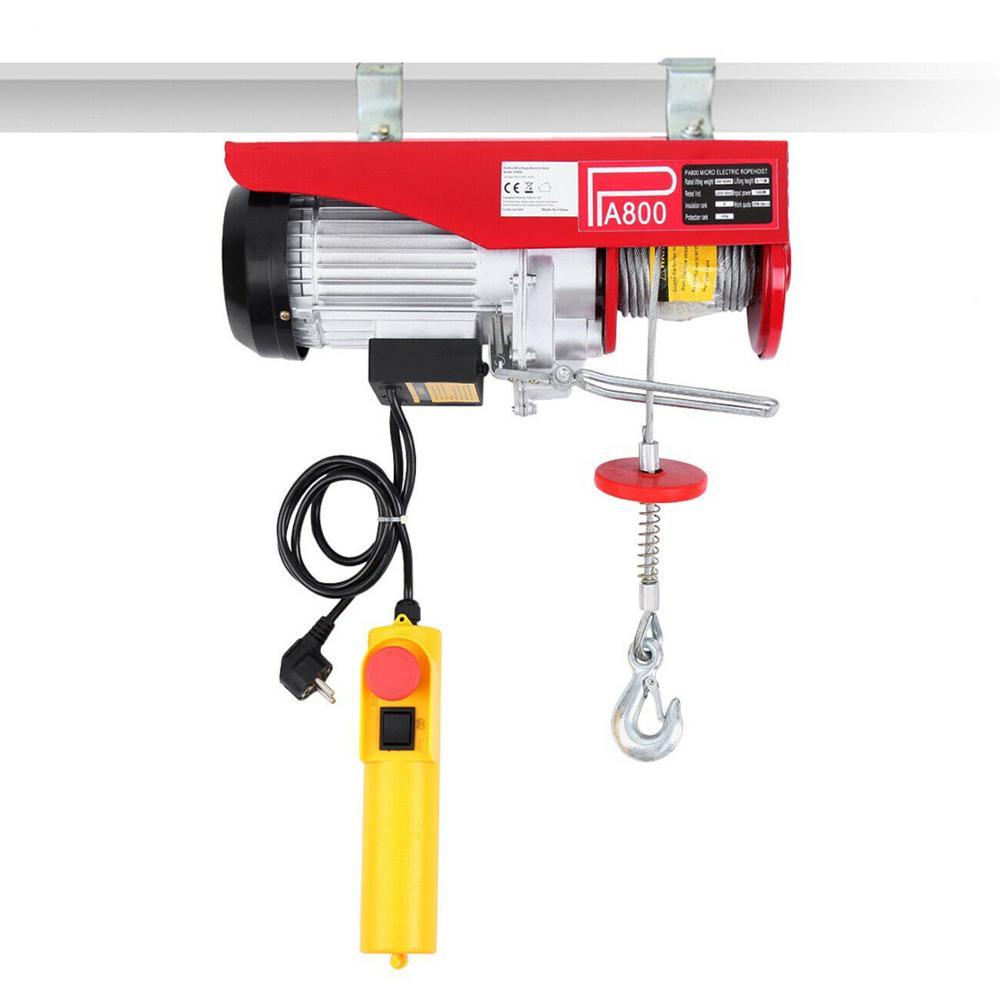 Scaffold Electric Workshop Garage Power Gantry Hoist Winch Lifting 400/800KG