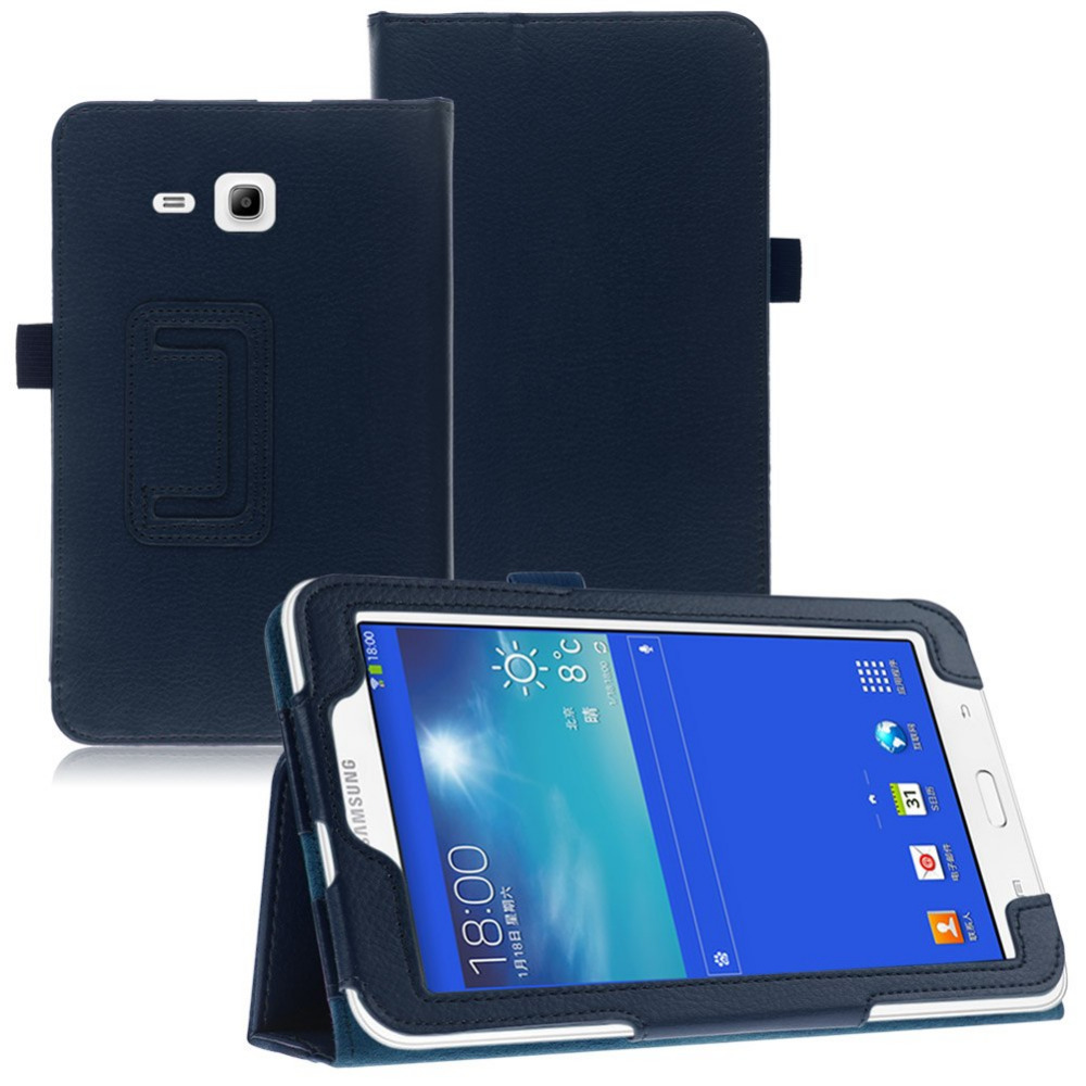 Magnetic PU Leather Stand Case Cover for Samsung Galaxy Tab 3 Lite 7 0 T110 T111