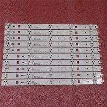 10 peças/lote PARA DIODO EMISSOR de luz UM SAMSUNG 2013SONY40B 3228 05 REV1.0 130927 para TV Sony KDL 40R450B 5 peça A + 5 peça B