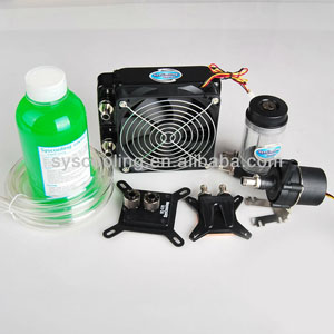 Syscooling UPCG20 water cooling kit for cpu and gpu water cooling system image