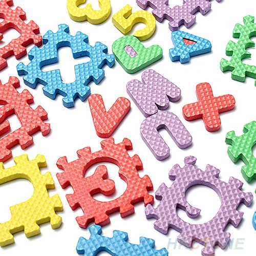 36 adet/takım çocuk çocuklar yenilik alfabe numarası EVA bulmaca köpük öğretim paspaslar oyuncak bebek emekleme paspaslar halı yumuşak paspaslar