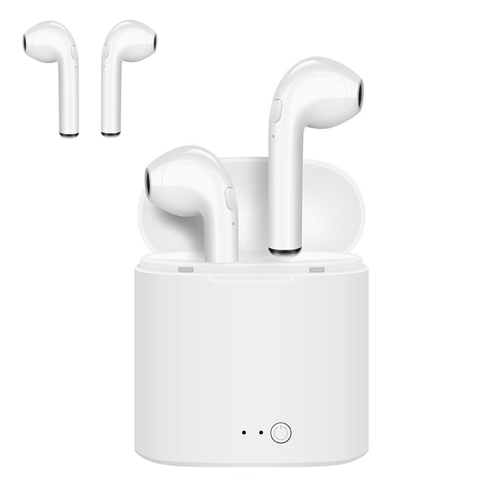 TWS V4.2 Wireless Earphone Bluetooth Earphones Pair In-Ear Music Earbuds Set for Apple IPh