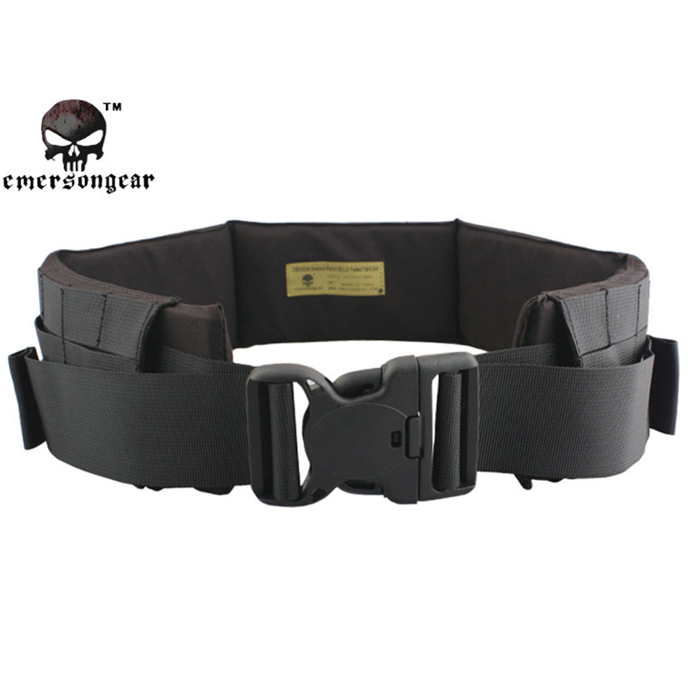 ФОТО EMERSON Tactical Molle Combat Patrol Waist Belt Airsoft Army Belt Outdoor Hunting Multifunctional Heavy Duty Surviaval Waistband