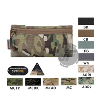 """Emerson Tactical Lightweight Invader Utility Pouch Hook & Loop EmersonGear 7"""" x 4"""" Flat Accessories Pocket Compact Stowed Bag