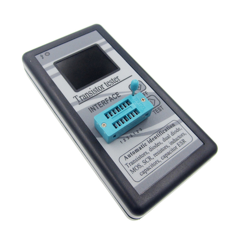 New version Multi-purpose Transistor Tester 128*160 Diode Thyristor Capacitance Resistor Inductance MOSFET ESR LCR Meter