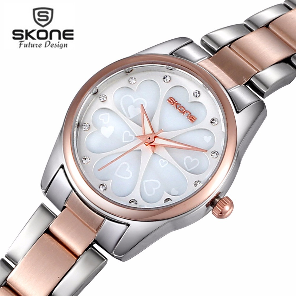 SKONE Women Watches Women Top Famous Brand Luxury Casual Quartz Watch Female Ladies Watches Women Wristwatches Relogio Feminino roman number square dial skone brand watches women luxury top quality fashion casual quartz watch leather wristwatches relojes