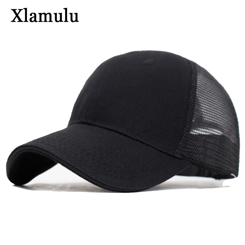 Xlamulu Summer   Baseball     Caps   Women Snapback Sun Hats For Men Sport Casquette Bone Gorras Dad Mesh Fitted   Baseball   Hats Male   Cap