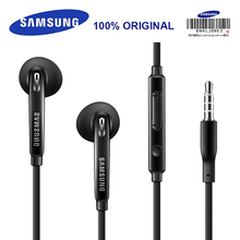 SAMSUNG EO EG920BW Earphones Wired Black/White with Mic 1.2m In ear Stereo Sport Earphones for Samsung S9 S9Plus with Retail Box