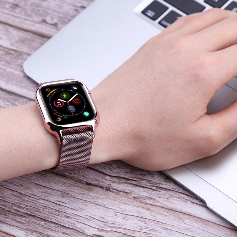 Bracelet milanais pour Apple Watch série 4