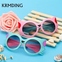 KRMDING Fashion Children's Sunglasses Boys Girls kids Cute C