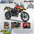 Customized Team Graphics Backgrounds Decals 3M Custom RB Stickers Kit For BMW F800 GS F800GS ADV Adventure