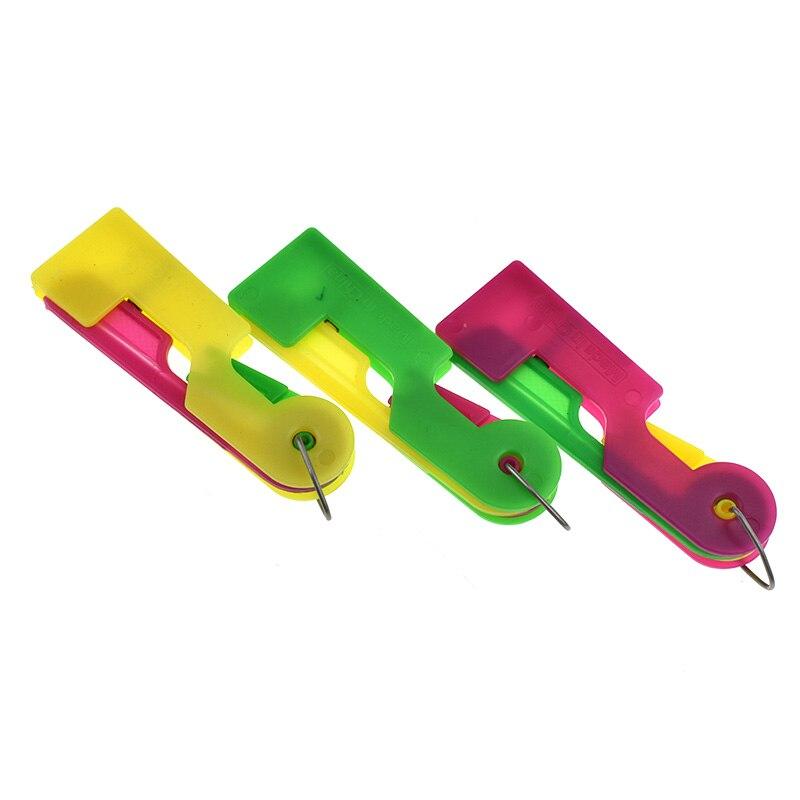 ٩(^‿^)۶Looen marca 3 unids aguja automática Hilos er ayudante Hilos ...