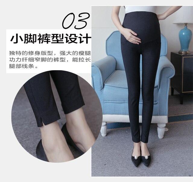 Новые зимние Брюки беременных женщин беременные женщины живот сторона сплит брюки беременных женщин ноги штаны