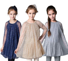 Toddler Girls Dress Kids Baby Princess Party Sequin Layered Tulle Formal Costume Dress