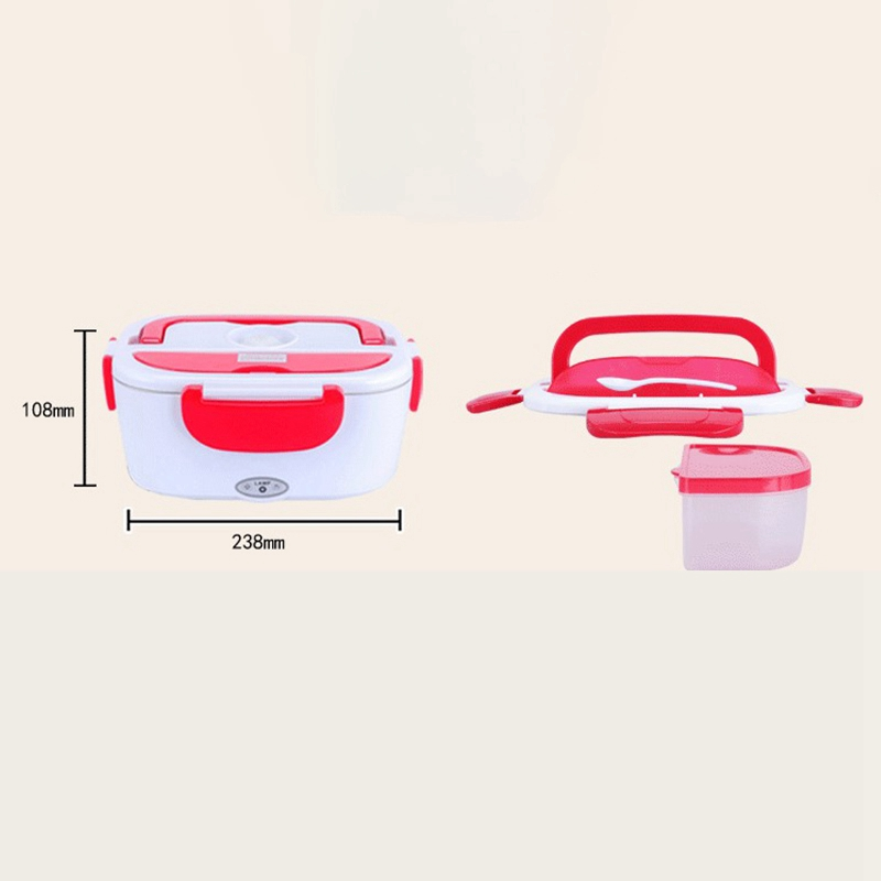 Electric Lunch Box Microwave Food Heating Container Household Rice Cooker Food Heater Eu Plug in Lunch Boxes from Home Garden