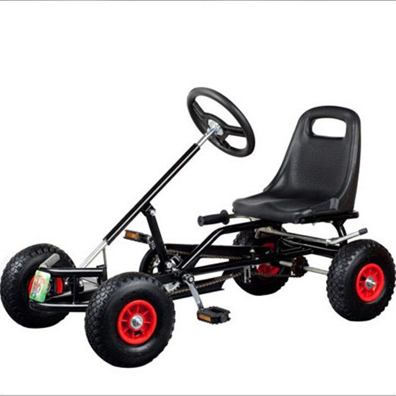 Enfants Scooters pédale aller Kart populaire enfants quatre roues chariot vélo équilibrage voiture monter sur les voitures pour l'entraînement en plein air