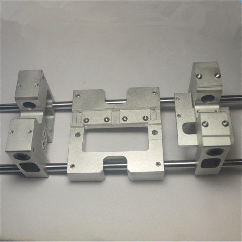 3d принтер части Алюминий оси x металла экструдер каретки + Y оси каретки комплект для CTC репликатора Flashforge обновления H20