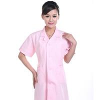 Men Women Summer Short Sleeve Medical Clothing Medical Coat Clothing Medical Services Uniform Nurse Clothing Protect