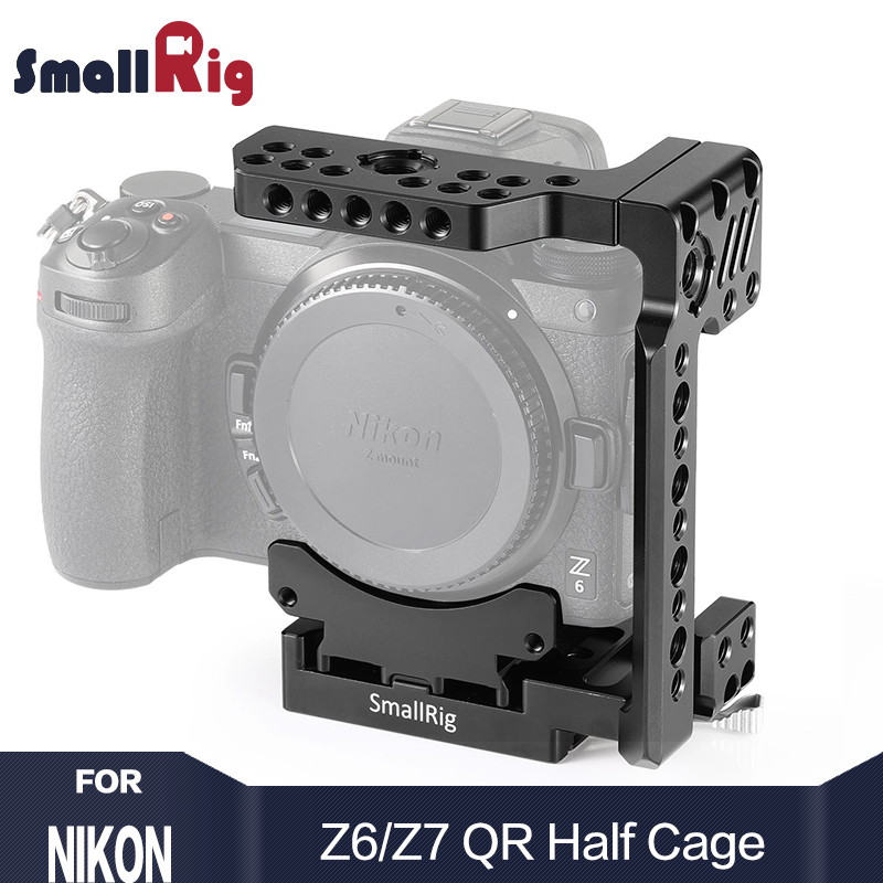 SmallRig Z7 Камера Кейдж quick release Половина Клетка для Nikon Z6 и Nikon Z7 Камера с Manfrotto quick release Plate 2262