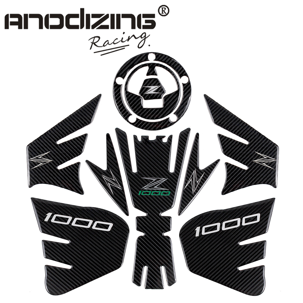 3D ADESIVI MOTO Sticker Decal Emblem Protection Tank Pad Gas Cap three part combination for KAWASAKI Z1000 2012-2015 kodaskin carbon 3d adesivi sticker decal emblem protection tank pad gas cap z1000 2012 2015