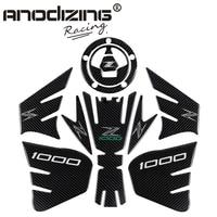 3D ADESIVI MOTO Sticker Decal Emblem Protection Tank Pad Gas Cap three part combination for KAWASAKI Z1000 2012 2015