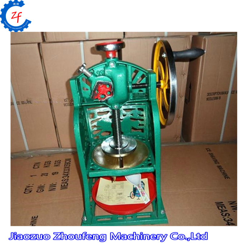 Snow Ice Shaver Machine Shaved Ice Machine Commercial Ice Crusher ZF hand driven ice crusher commercial and home use crushed ice machine zf
