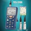 Портативный цифровой светодиодный Виброметр с анализатором Виброметр тестер TES-3100