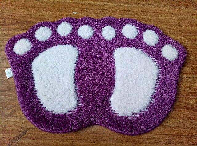 Violet pas cher maison tapis de bain salle de bain cuisine ...