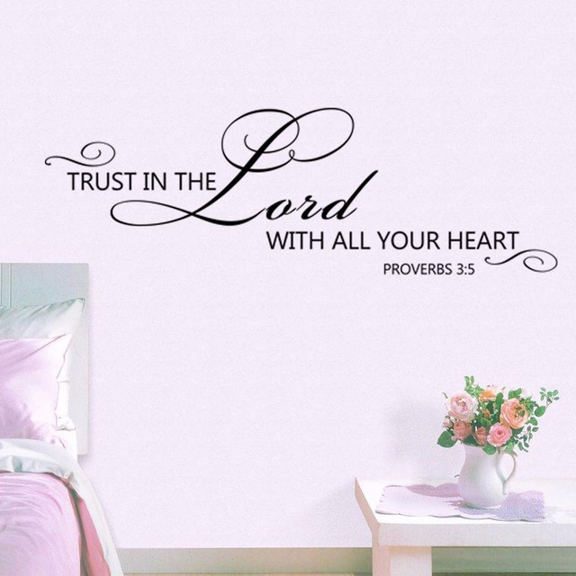 Proverbs 35 trust in the lord with all your heart bible verse