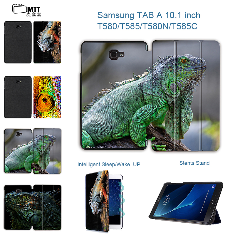 MTT High quality PU Leather Case Chameleon Cover for Samsung Galaxy Tab A6 10.1 2016 T585 T580 SM-T580 T580N Smart Stand Case зимняя шина nokian hakkapeliitta 8 suv 295 40 r20 110t