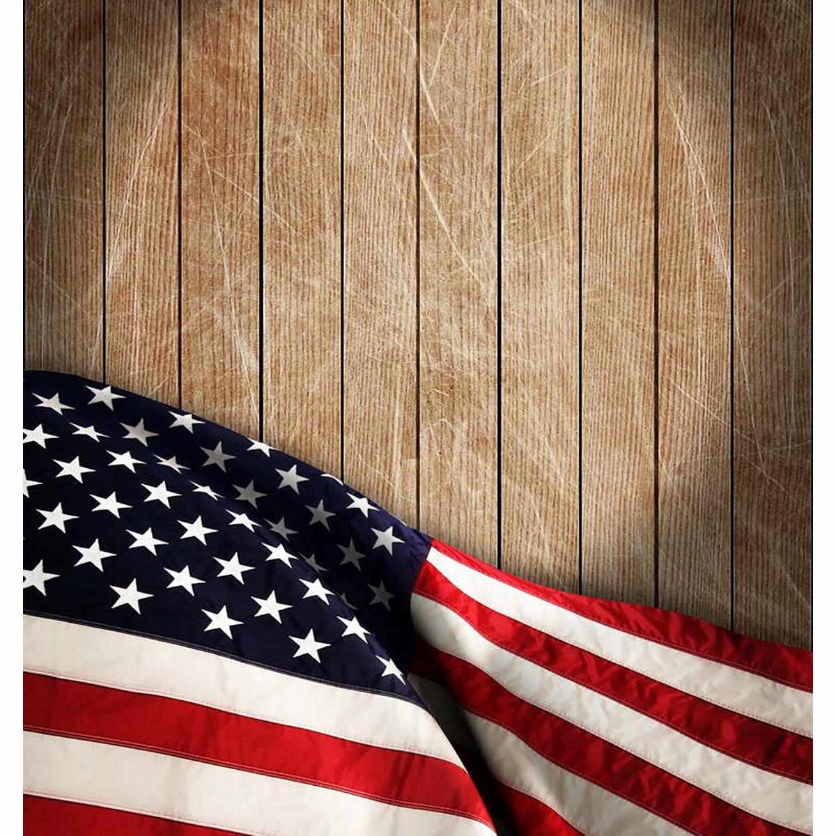 Allenjoy Amerikanischen flagge Unabhängigkeit Tag fotografie holz ...
