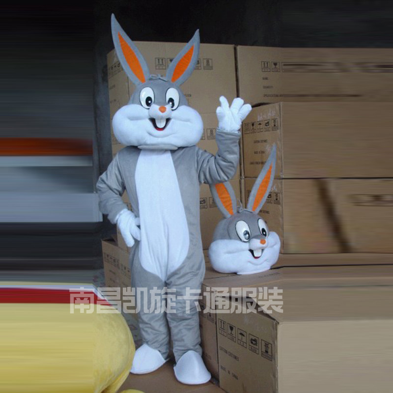 2017 Vendre Comme Chaud Professionnel Lapin De Pâques Costumes de Mascotte De Lapin et Bugs Bunny Adulte mascotte à vendre