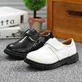 2016 Новых Детей Shoes Яркий Кожи Кожи Shoes Дети Классические нескользящей Сапоги Мальчики Кожа Shoes Casual Shoes