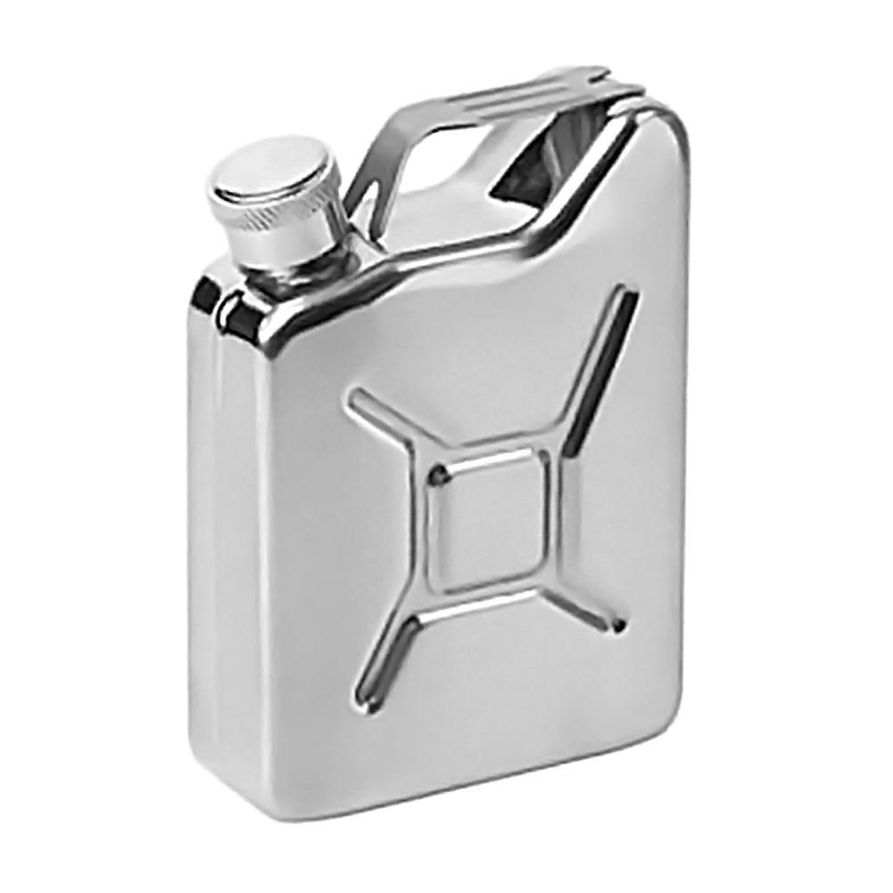 Aço inoxidável Flagon 5 oz Frascos Hip portátil Vinho Whisky Aço Pote de Metal Latas De Gasolina Combustível para Garrafa de Licor de Uísque