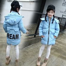 Winter fashion kid down coat girls boys Down jacket Warm thicken clothes