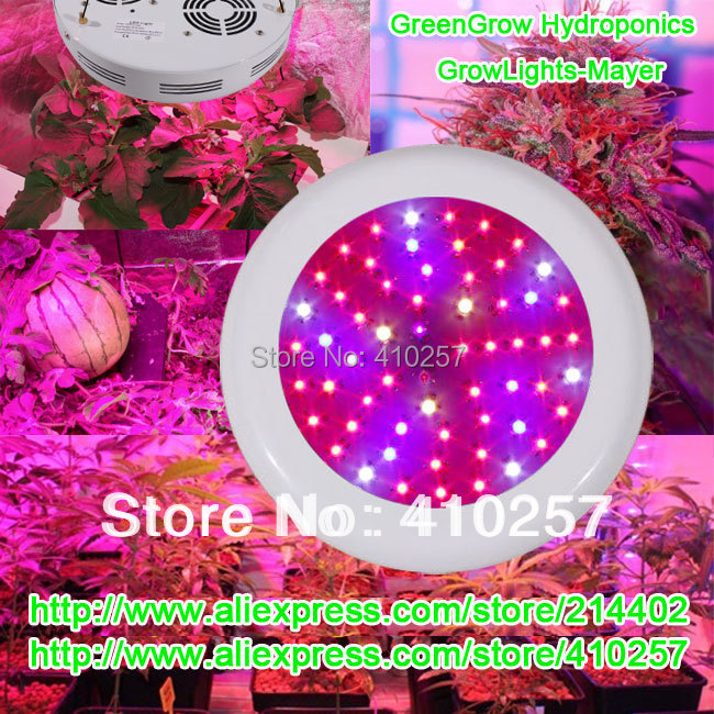 Free shipping 92dollars promotion ufo led grow light 180W(60*3W) 3w chip 3yeas warranty HIGH-QUALITY Dropshipping