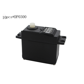 10PCS K-power DP0300 3KG Digital Plastic Gear DC Motor standard waterproof RC servo for RC plane car boat heli robot