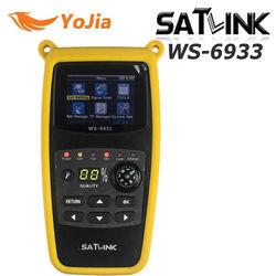 Oryginalny Satlink WS-6933 wizjer satelitarny DVB-S2 FTA CKU zespół Satlink cyfrowa wizjer satelity wizjer satelitarny miernik WS 6933 darmowa wysyłka