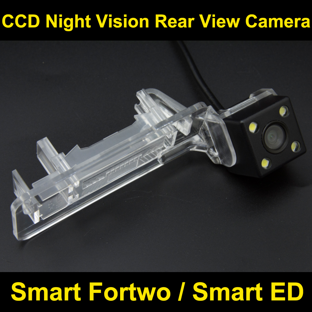 imágenes para Para Mercedes Benz Smart Fortwo/Smart ED CCD Cámara de visión Trasera Cámara del Revés del Estacionamiento de Copia de seguridad