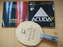 Yasaka MA LIN Carbon Table Tennis base ping pong paddle/blade/rackets with yasaka(Mark V, M2, XD, R7) Donic(S1, M1) rubbers