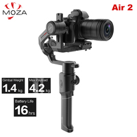 Moza Air 2 Air2 3 Axis Handheld Gimbal Stabilizer Maxload 4.2KG for Sony Canon DSLR PK DJI Ronin S Zhiyun Weebill LAB Crane 2