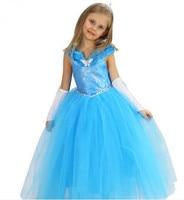 blue cinderella dress cinderella costume cinderella child costume princess dress girls birthday party clothes
