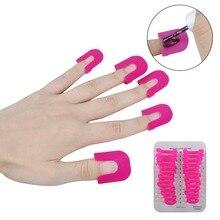 Biutee 1 Set/26Pc Pro Manicure Finger Nail Art Case Design Tips Cover