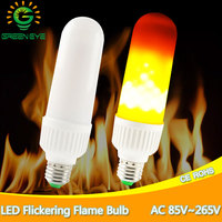 LED Flame Bulbs Fire Corn Light E27 E26 AC85 265V 2835 SMD Energy Saving LED Bulb