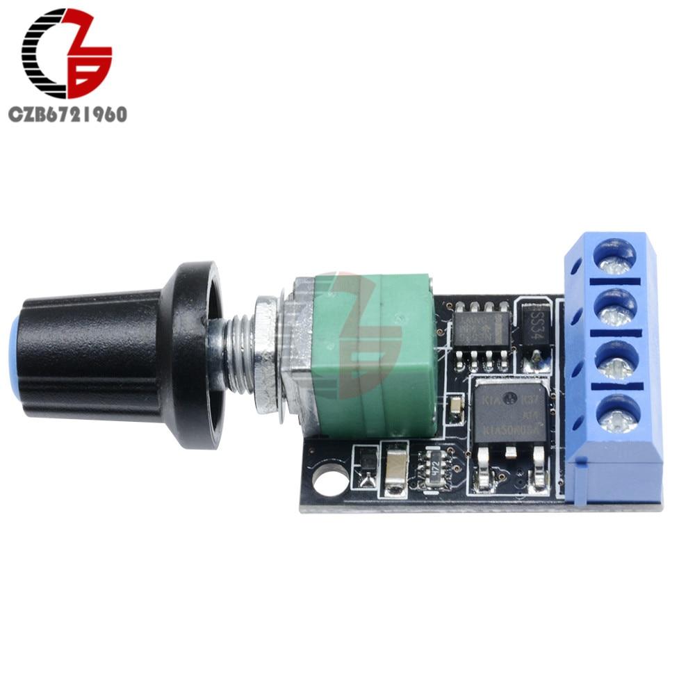 5V 12V 10A PWM DC motor speed controller governor stepless speed regulatorBLUS