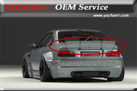Car Styling FRP Fiber Glass Trunk Spoiler Fit For 1998 2005 E46 M3 Coupe GP PD RB Style Body Kit Rear Spoiler Wing