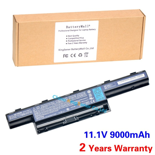 9000mAh Japanese Cell Original AS10G3E Laptop Battery for Acer 4741G 5741G 4738G 5560G 5750G 7551G 7560G AS10D5E AS10G3E AS10D31