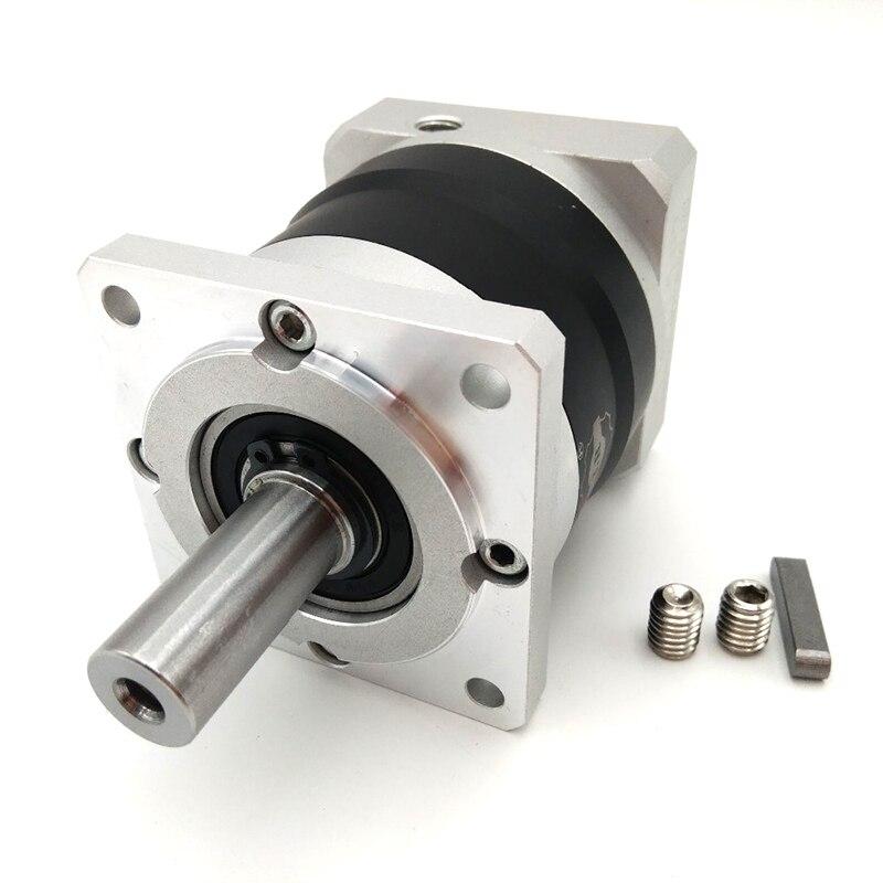 planetary gear reducer ratio 40:1 for nema42 stepper motor and 100mm servo motor